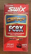 Swix Fc8X Cera F Pure Fluoro Powder Ski Race Wax 30 Grams New Unopened