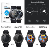 Tempered Glass Screen Protector Compatible Samsung Gear S3 & Galaxy Watch 46Mm 3
