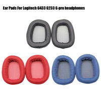 Replacement Earpad Cushion Ear Pads For Logitech G433 G233 G-pro Headphones ZBE