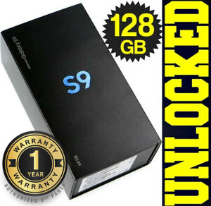 Samsung Galaxy S9 SM-G960U1 128GB (FACTORY UNLOCKED) BLACK│BLUE│PURPLE ❖SEALED❖w