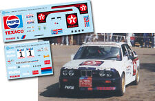 Decal 1:43 Jose Maria Ponce - BMW M3 - Rally Gran Canaria 1988
