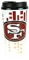 Brand New San Francisco 49ers Hype Travel Mug Coffee Cup 32 Ounces NFL