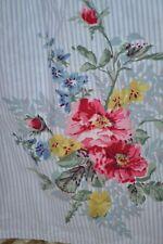 "Chaps Ralph Lauren Nantucket Floral King Bedskirt Ruffle 14.5"" Drop Split Corner"