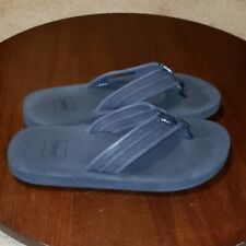 Teva Flip Flops sz 7 Mens Black  Thong Sandals