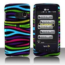Colorful Zebra Hard Case Cover LG Banter Touch UN510