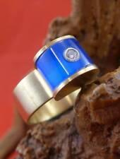 Top moderner original Bunz Brillant Ring in 750 Gelbgold