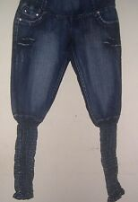 Only You Womens Jeans, Sz 5 Stretch Legging Lower Pant Legs, Stretchy Jeans