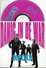 TROCKENER KECKS - Danig in de war CD SINGLE 2TR DUTCH CARDSLEEVE 1991 RARE!!