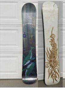 Vintage 95 Lib Tech Jamie Lynn Whales Snowboard 1st pro Model 154 Rare Collector
