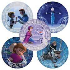 25 FROZEN Glitter STICKERS Party Favors Birthday Supplies Treat Bags