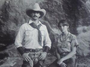 Jay Dusard Cowboy Portrait RW & Denise Hampton LS Ranch TX Collectible 1982-MINT