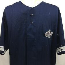 Dynasty MLB ALL Star Game Seattle 2001 mens short sleeve jersey size M