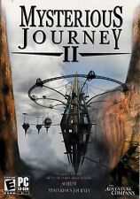 """NEW! """"MYSTERIOUS JOURNEY II"""" PC CD-ROM computer game / Everyone"""