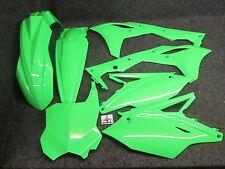 Kawasaki KXF250 2017 X-Fun complete all green full plastic kit PK3017