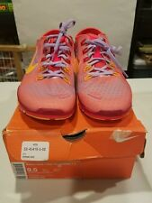 Nike Free TR Connect 2 Running Shoes Crimson / Mango 638680-600 Womens Size 9.5