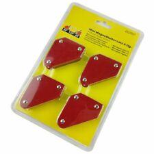 4 Pcs/set Mini e-Welding Positioner 9Lb Magnetic Fixed Angle Soldering Loca U6V8