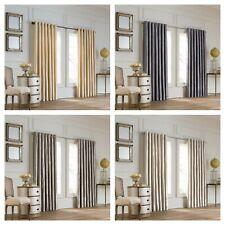 Valeron® Lustre Solid Grommet Double Width Luxury Window Panel