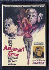 Paul Naschy ASSIGNMENT TERROR (1970) Legendary Monsters Revived DVD NTSC NEW