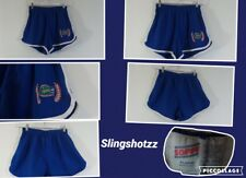 "*Soffee* Jrs ""XL"" Blue/Wht 'Florida Gators' Pull-on Poly/Cotton Cheer Shorts"