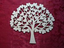 MDF Wooden MDF Wooden Wedding guest book tree Craft wall door hanging art