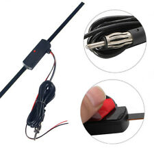 Hot Electronic Stereo AM/FM Radio Car Hidden Amplified Antenna Kit 12v Universal