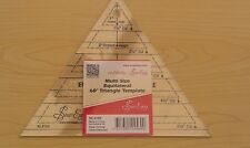 Sew Easy Multi Size Equilateral 60 Degree Triangle Template Ruler Nl4170