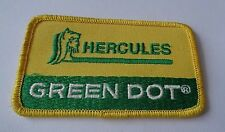 HERCULES GREEN DOT  CLOTH PATCH     -HUNTING SHOOTING