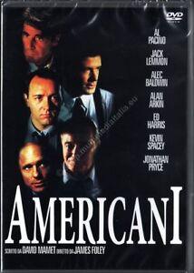 AMERICANI (1992) Jack Lemmon Al Pacino - DVD NUOVO