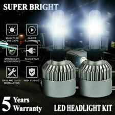 H1 2000W 300000LM LED Headlight Kit Hi/Low Beam Bulb 6000K Power Fogbulb S2 HID