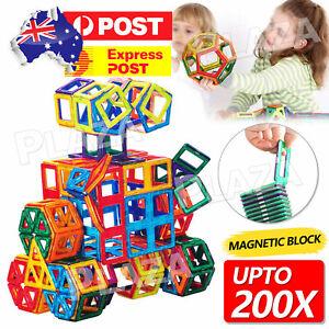50/100/200pcs Magnetic Building Blocks Toy Set 3D Tiles DIY Toys Gift for Kids