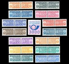 Repubblica 1955 1984 Pacchi in Concessione Serietta Nuova 15v. MNH** + Lire 3000