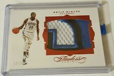 Kevin Durant 2015-16 Flawless Ruby Jumbo 3 Color Patch 13/15