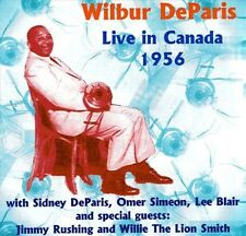 Wilbur Deparis, Wilbur De Paris - Live in Canada 1956 [New CD] UK - Import