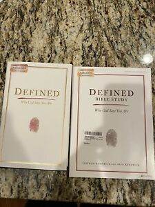 Defined Bible Study And Book.  Who God Says You Are