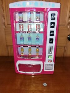 """My Life Drink Vending Machine Accessory 18"""" Dolls Fits American Girl incomplete"""
