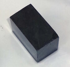 Black Steatite Carving Stone for Peace Pipe & Crafts, Stone Slab J6-3