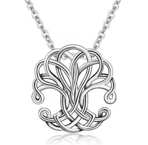 M264 Pendant Tree of Life Sterling Silver 925 Symbol of Love