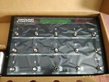More details for voodoo labs ground control pro guitar pedal midi controller (brand new)