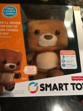 Smart Toy Bear Fisher Price Talking Learning Interactive Plush Stuffed Toy New
