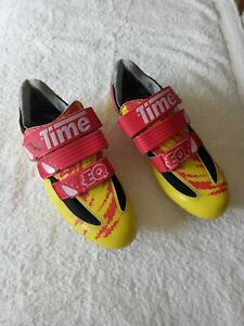 Time cycling shoes and Time TBT/SPD compatibility Discs.