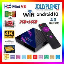 H96 Mini Smart TV Box ANDROID 10.0 2GB 16GB 4K Quad Core Rockchip RK3228A WiFi