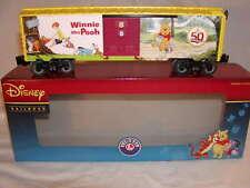 Lionel 6-82913 Disney Winnie the Pooh 50th Anniversary Box Car O-27 MIB New 2016