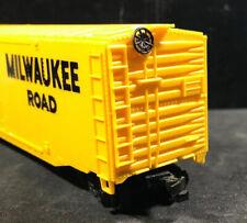 HO Milwaukee Road 52' Box Car 100% Tested & Refurbished Lot Y46