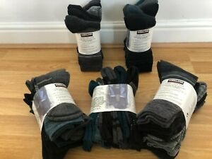 6 X Pairs Kirkland Signature Women Ladies Trail Extra-Fine Merino Wool Socks 4-8