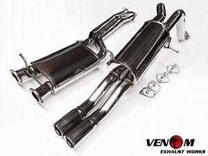"Venom BA BF FG Turbo BOSS V8 Ute Twin 2.5"" REAR MUFFLER - Falcon XR6 FPV F6 BOSS"