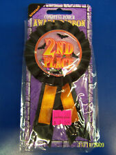 2nd Place Costume Contest Halloween Carnival Party Confetti Pouch Award Ribbon