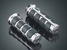 Harley Davidson Cromo Empuñaduras Confort ISO (electrónico del Acelerador Kuryakyn) (6227)