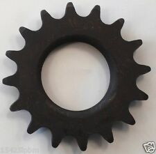 FIXED GEAR 16T BLACK FIXIE COG FIXED GEAR TRACK SINGLE COG 16 TOOTH 1/8""