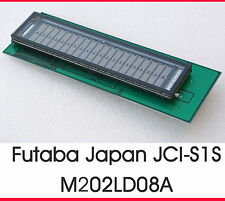 FUTABA M202LD08A VFD-DISPLAY DISPLAY JCI-S1S M202LD08 TOP CONDITION 100% OK #13
