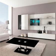 The Glass Coffee Table Chrome Leg Black Rectangular Porch Patio Living Room Home